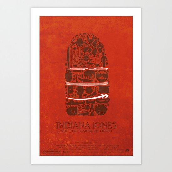 Temple of Doom Poster Art Print