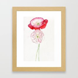 A Delicate Kind Of Love Framed Art Print