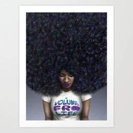 Volume Fro Life Art Print