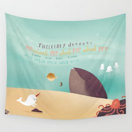 Wendell's Symphony Wall Tapestry