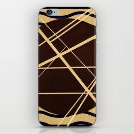 Crossroads - wavy graphic iPhone Skin