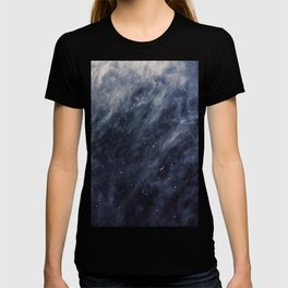 Blue Clouds, Blue Moon T-shirt