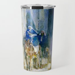 Henry Ossawa Tanner Flight into Egypt Travel Mug