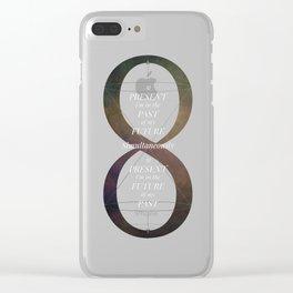 Continuum [CLR VER] Clear iPhone Case