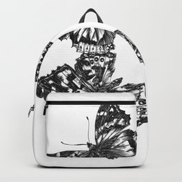 Butterfly Symmetry Backpack