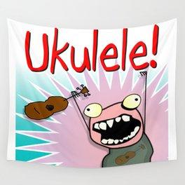 Ukulele! Wall Tapestry