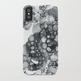Ink Bubbles iPhone Case