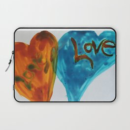 Love duo | Duo d'amour Laptop Sleeve