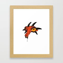 Devil Drool Framed Art Print