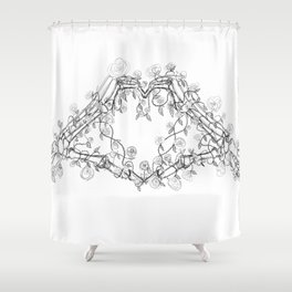 Our Love is Forever Shower Curtain