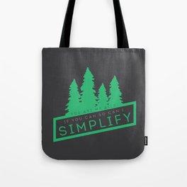 Brendan James,Simplify Tote Bag