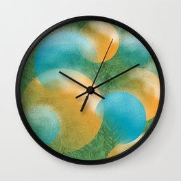 frosted ornaments Wall Clock