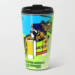 2014 FEI World Equestrian Games in Normandy JUMPING Travel Mug