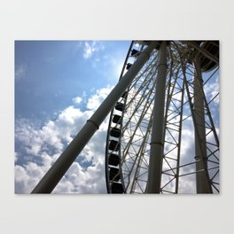 Up High, from Down Below Canvas Print