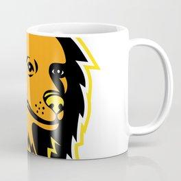 Pomeranian Dog Mascot Coffee Mug