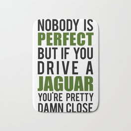 Jaguar Owners Bath Mat
