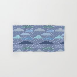 rainy cloud Hand & Bath Towel