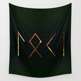 Loki Runes Wall Tapestry