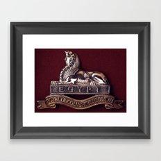 Royal Lincolnshire Regiment Framed Art Print