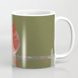 Pastel Cardinals Coffee Mug