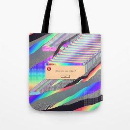 Error Tab Vaporwave Tote Bag