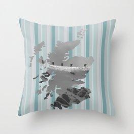 Scotland, the land of mountains Throw Pillow