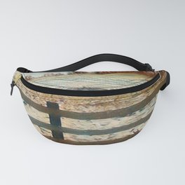 """ Winter Fence "" Fanny Pack"