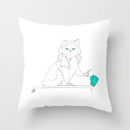 Your Opinion Throw Pillow