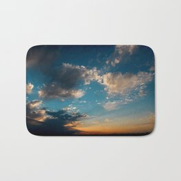 Sunset 031619 Caps, Texas Bath Mat