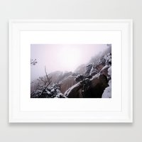onward Framed Art Prints featuring Onward by Hapa Mandu