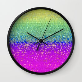 Glitter Star Dust G289 Wall Clock