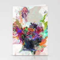 archan nair Stationery Cards featuring Awake by Archan Nair