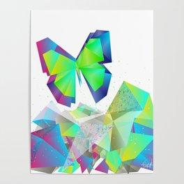 break free butterfly Poster