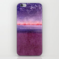 purple window iPhone & iPod Skin