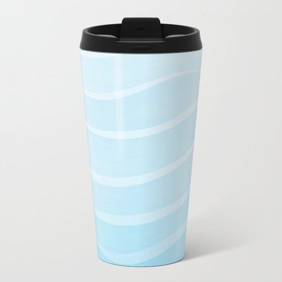Light Sea Metal Travel Mug