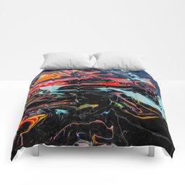 Drip #1 Comforters