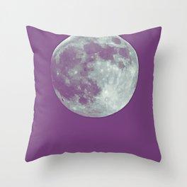 supermoon Throw Pillow