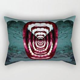 Moloch Mouth Rectangular Pillow