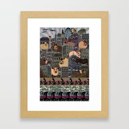 London City Farm Framed Art Print