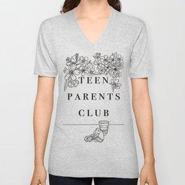 Teen Parents Club Unisex V-Neck
