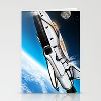 titan Stationery Cards featuring S.S. Titan by AndrewDMorgan