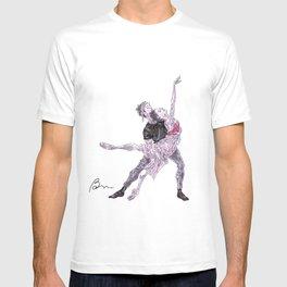 Natalia Osipova and Matthew Ball in Romeo and Juliet T-shirt