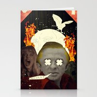 annie hall Stationery Cards featuring Annie? by Alec Goss