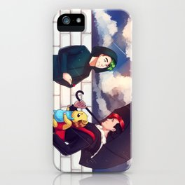 When it rains - Markiplier + Jacksepticeye iPhone Case