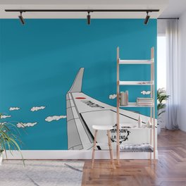 Airplane Wing Wall Mural