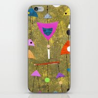 50s iPhone & iPod Skins featuring Retro Fantasy 50s by Beatrice Roberts