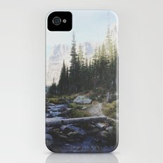 Rocky Mountain Creek iPhone (4, 4s) Slim Case