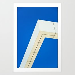 Architectural Angles Art Print