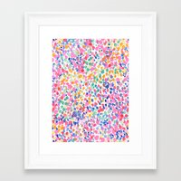 pastel Framed Art Prints featuring Lighthearted (Pastel) by Jacqueline Maldonado