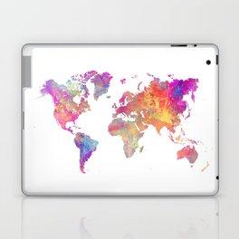 Map of the world #map #world Laptop & iPad Skin